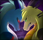 rivalry always by Anais-thunder-pen
