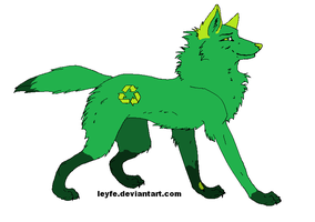 BE GREEN and RECYCLE...? by IntelligentWolf