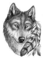 Wolf by Aliveful
