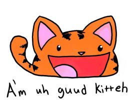Guud Kitteh by TerdBurgler
