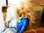 Baby  mermaid by fairytaledolls