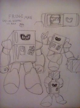 Fridge Man by PKstarship