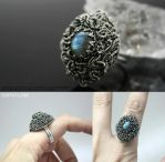 Medusa II ring by IMNIUM