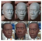 Don Cheadle Rhodey 1:4 by TrevorGrove