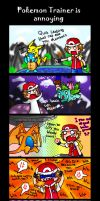 pokemon trainer is annoying by PB1593