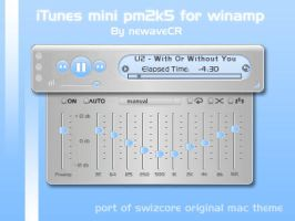 iTunes Mini Pm2k5 by NewaveCR