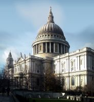 St. Paul's Cathedral by evionn