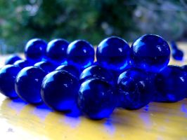Blue Marbles 2 by richardxthripp