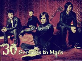 30 Seconds to Mars wallpaper by Leon88X