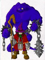 Gnomish Warlock Colored by Dystopia3000