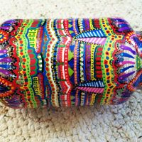 Hand Painted Jar #1 by PsychedelicQueen