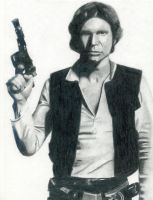 Han Solo -Harrison Ford- by musicscifigirl