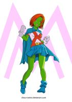 It's  Miss Martian by chou-roninx