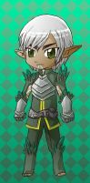 Pocket size Fenris by spidercandy