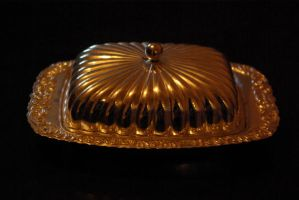 butter dish 5 by Monumnas-Stock