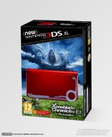 new Nintendo 3DS XL Monado Edition Box Art by Casval-Lem-Daikun