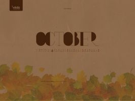 October_wallpaper by wedia