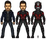 Scott Lang/ Ant Man by Almejito