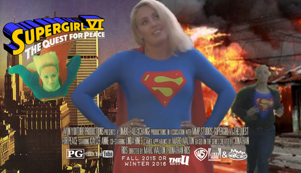 Supergirl VI Action Pack Movie Poster by WONTV5