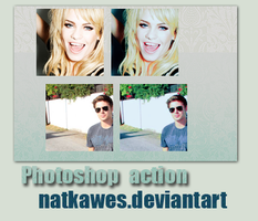 5. Photoshop action by Natkawes