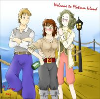 Welcome to Flotsam Island by HomunculusLover