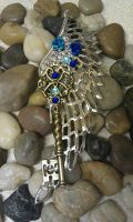 Heaven Sent Fantasy Key Pendant by ArtByStarlaMoore