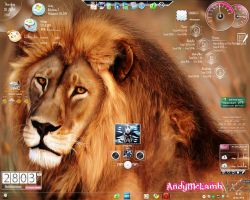 Windows 7 Lion by AndyMcLamb