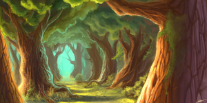 Forest by wangqr