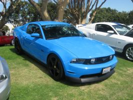 Ford Mustang 5.0 Light Blue by granturismomh