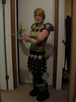 Astrid - WIP Costume - 4 by msventress