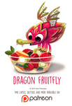 Day 1423. Dragon Fruitfly by Cryptid-Creations