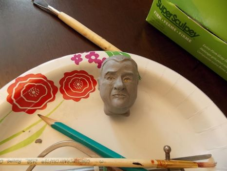 Lou Costello wip by SickyGreen
