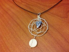 Dream Catcher Necklace For Sale by FlutterByye