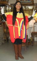 Me in McDonald's French Fries package costume 2 by Magic-Kristina-KW