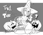'Trick or Treat' lines by malberri