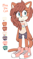 Miia the Cat ref by Miiukka