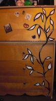 i painted my dresser bahaha by Snappedragon