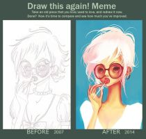 Draw this again! meme by SolDevia