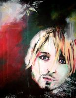 kurt cobain by guitarsallly