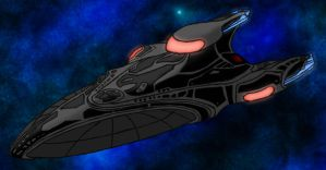U.S.S. Enchanter isometric by agenttomcat
