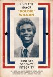 Goldie Wilson Election Poster by oldredjalopy