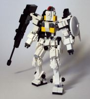 Microscale LEGO Tallgeese by MikeTehFox