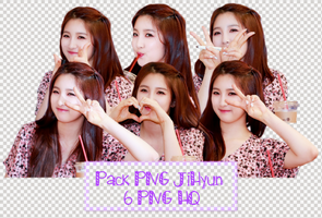 Pack PNG #64: JiHyun (4minute) by jimikwon2518