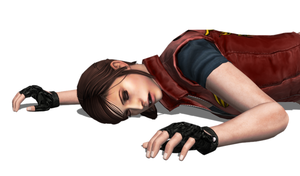 Claire Redfield (Code Veronica) Fallen 5 by FallenParty