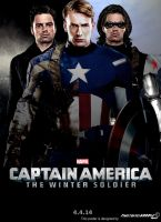 Captain America: The Winter Soldier Poster Fanmade by Timetravel6000v2
