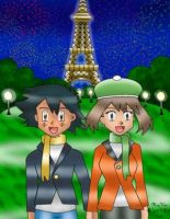 Ash:May in Paris by Advanceshipping