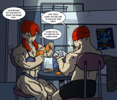 Strip poker by Ritualist
