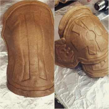 Drakengard 3 shoulder (cosplay progress) by Puma-Lightning