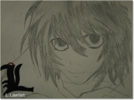 L Lawliet by L-TheWindGirl