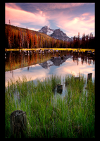 McGown Peak Reflection by narmansk8